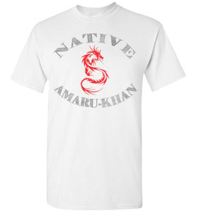 Native Amaru-Khan Red & Black Tee - 1