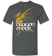 Load image into Gallery viewer, Dragon Moor Tee 1 - Mayan Gold Dragon