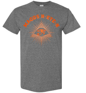 Magus N-eye-N Tee - Sunset Orange