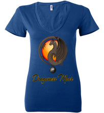 Load image into Gallery viewer, Dragoness Moor Yin Yang V-Neck Tee