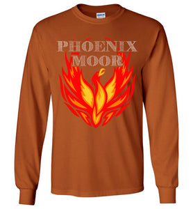 Phoenix Moor Long Sleeve Tee - Fire Bird