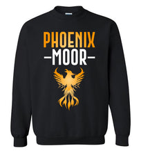 Load image into Gallery viewer, Fire Bird Phoenix Moor Sweatshirt - Gold & White