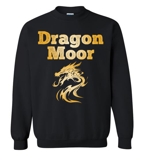 Fire Dragon Moor Sweatshirt - Gold Dragon