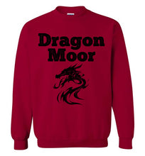 Load image into Gallery viewer, Fire Dragon Moor Sweatshirt - Black Dragon