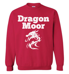 Fire Dragon Moor Sweatshirt - White Dragon