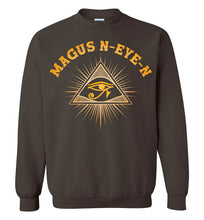 Load image into Gallery viewer, Magus N-eye-N Sweatshirt - Pharaoh's Gold