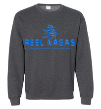 Load image into Gallery viewer, Reel Nagas Crewneck Sweatshirt - Water Nation Blue