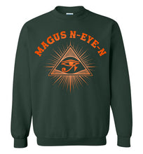 Load image into Gallery viewer, Magus N-eye-N Sweatshirt - Sunset Orange