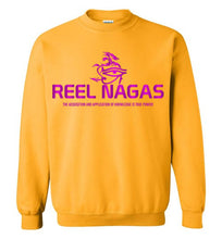 Load image into Gallery viewer, Reel Nagas Crewneck Sweatshirt - Phoenician Purple