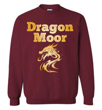 Load image into Gallery viewer, Fire Dragon Moor Sweatshirt - Gold Dragon