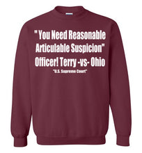 Load image into Gallery viewer, Terry Stop Crewneck Sweatshirt