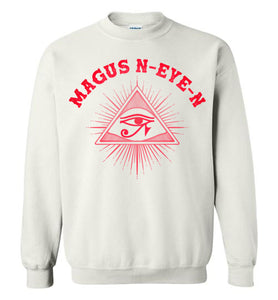 Magus N-eye-N Hoodie - Planet Mars Red
