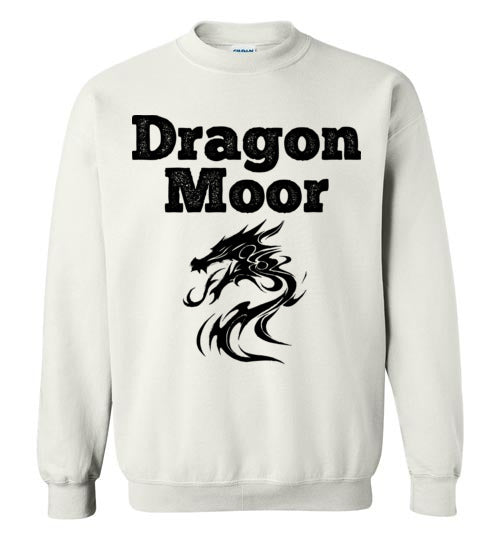 Fire Dragon Moor Sweatshirt - Black Dragon
