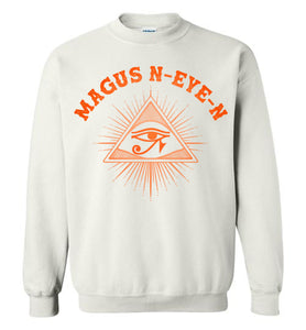 Magus N-eye-N Sweatshirt - Sunset Orange