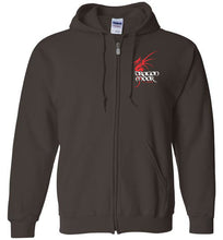 Load image into Gallery viewer, Dragon Moor Zip Hoodie Red Dragon