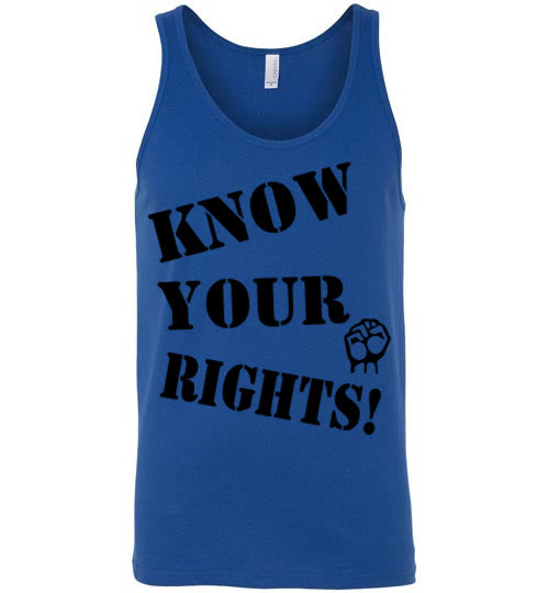 Know Your Rights Tank - Fist