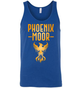 Fire Bird Phoenix Moor Tank - Gold Flame