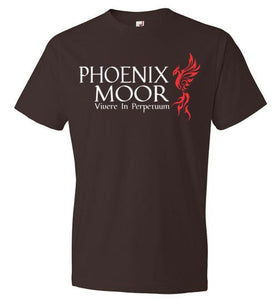 Phoenix Moor Red & White T-2