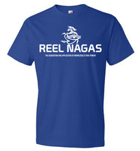 Load image into Gallery viewer, Reel Nagas Tee - White