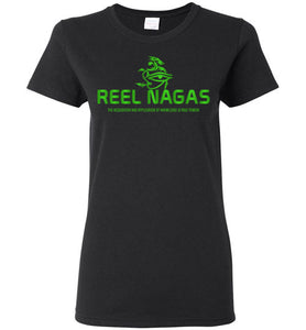 Women's Reel Nagas Tee - Earth Nation Green