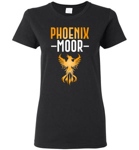 Women's Fire Bird Phoenix Moor Tee - Gold & White