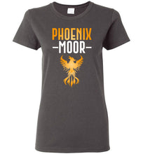 Load image into Gallery viewer, Women's Fire Bird Phoenix Moor Tee - Gold & White
