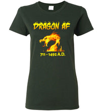 Load image into Gallery viewer, Women's Dragon AS F**K Tee - Gold Dragon