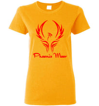 Load image into Gallery viewer, Women's Phoenix Moor Red Bird Tee - 1