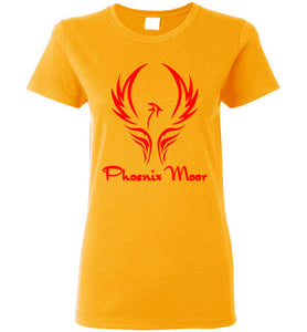 Women's Phoenix Moor Red Bird Tee - 1