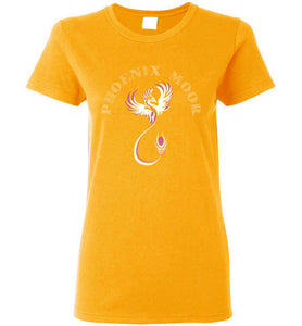 Women's Phoenix Moor Tee -Royal Bird