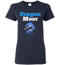 Load image into Gallery viewer, Women's Fire Dragon Moor Tee - Blue Dragon