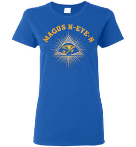Women's Magus N-eye-N Pyramid Tee - Pharaoh's Gold