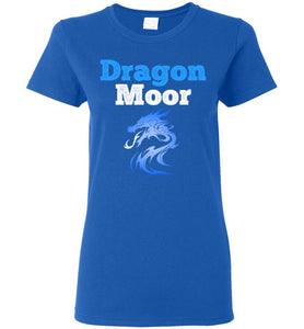 Women's Fire Dragon Moor Tee - Blue Dragon