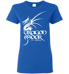 Women's Dragon Moor White Dragon Tee - 1