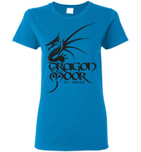 Load image into Gallery viewer, Women's Dragon Moor Black Dragon Tee - 1