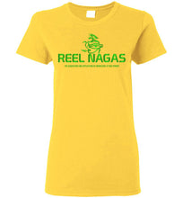 Load image into Gallery viewer, Women's Reel Nagas Tee - Earth Nation Green