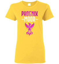 Load image into Gallery viewer, Women's Fire Bird Phoenix Moor Tee - Royal Violate & White