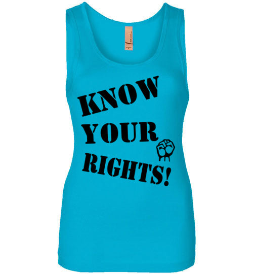 Women's Know Your Rights Tank - Fist