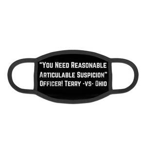 Terry Stop Face Mask