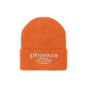 Embroidered Phoenix Moor Knit Beanie - 2
