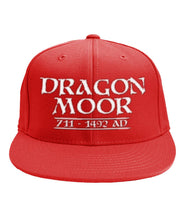 Load image into Gallery viewer, Dragon Moor  Snapback Cap -  White Font