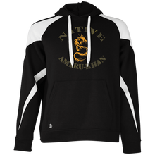 Load image into Gallery viewer, Native Amaru-khan  Colorblock Hoodie  - Mayan Gold