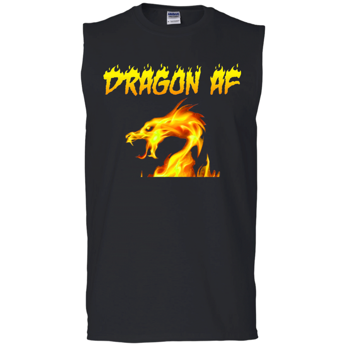 Dragon AS F**K Muscle Tank - Gold