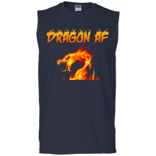 Load image into Gallery viewer, Dragon AS F**K  Muscle Tank - Red Dragon