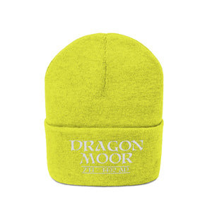 Embroidered Dragon Moor Knit Beanie - 1