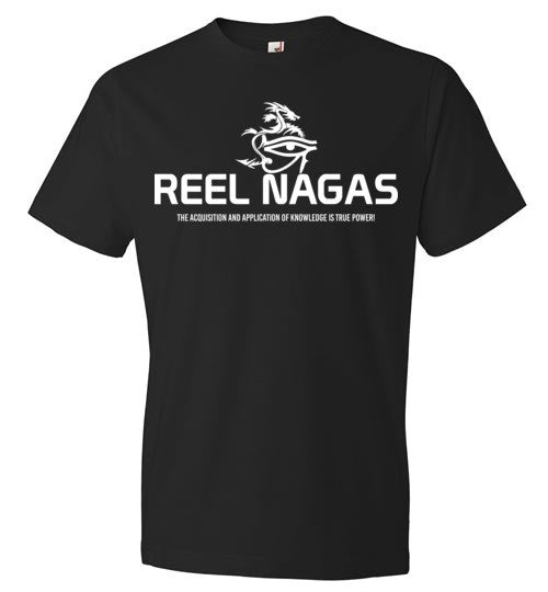 Reel Nagas White T-1