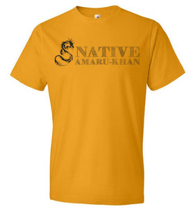 Native Amaru-Khan Black T-2