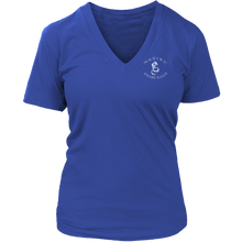 Load image into Gallery viewer, Native Amaru-Khan Women's V-Neck  T-2