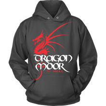 Load image into Gallery viewer, Dragon Moor Hoodie Red Dragon