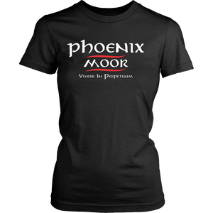 Phoenix Moor Women's Red & White T-2